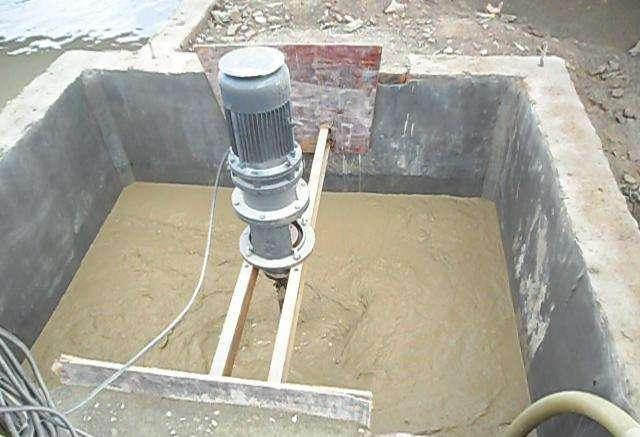 洗沙场污水